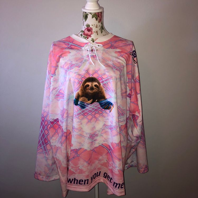 Sloth Jersey dont started art m - nishlo | ello