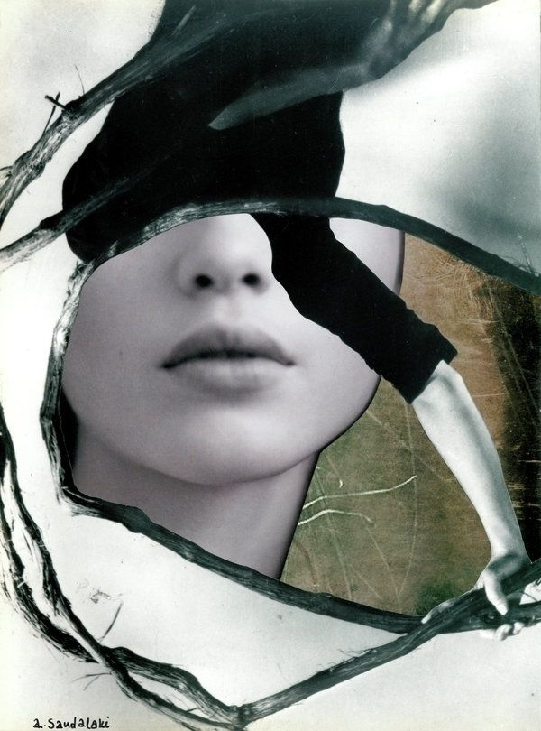 rest silence', paper collage (2 - annasandalaki | ello