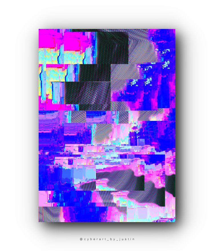 'DATACLOUD' 10 digital editions - cyberart_by_justin | ello