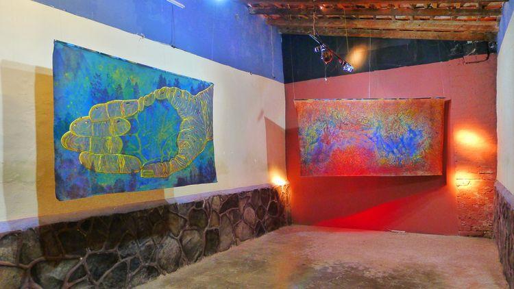 Exhibition El Muro, galería - christiansantanaprinz   ello
