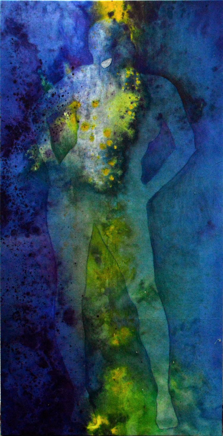 'Freya' Acrylic canvas, 108 55  - anabertinahursh | ello