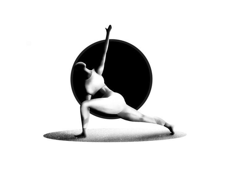 Flexible girl yoga (2) illustra - aminnajafi | ello