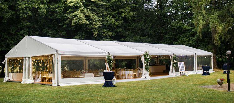 Wedding marquee hire open huge  - skymarquee | ello