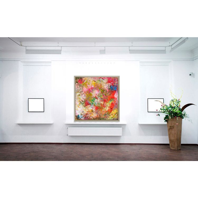Swan Lake 48x48 Floating Frame - arvanneco | ello