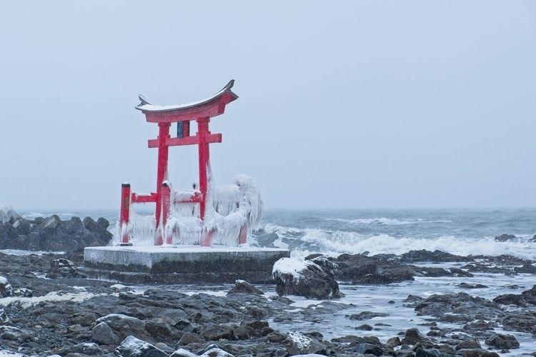 Tori gate Shosanbetsu Hokkaido - tedhamilton   ello