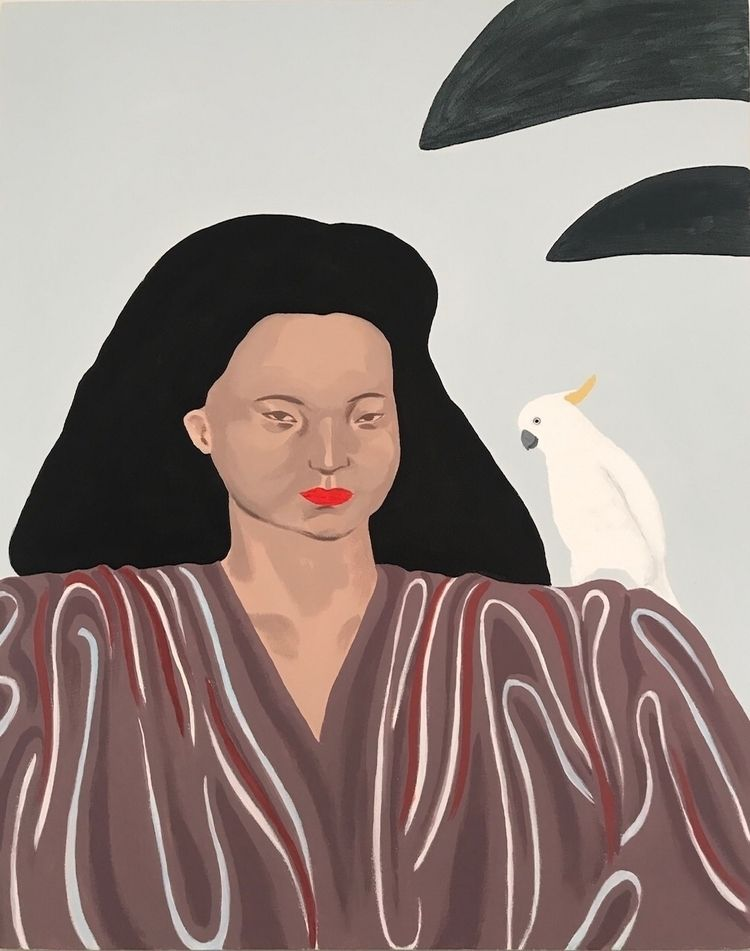 Summer 1996 - art, painting, portrait - jyxchen | ello