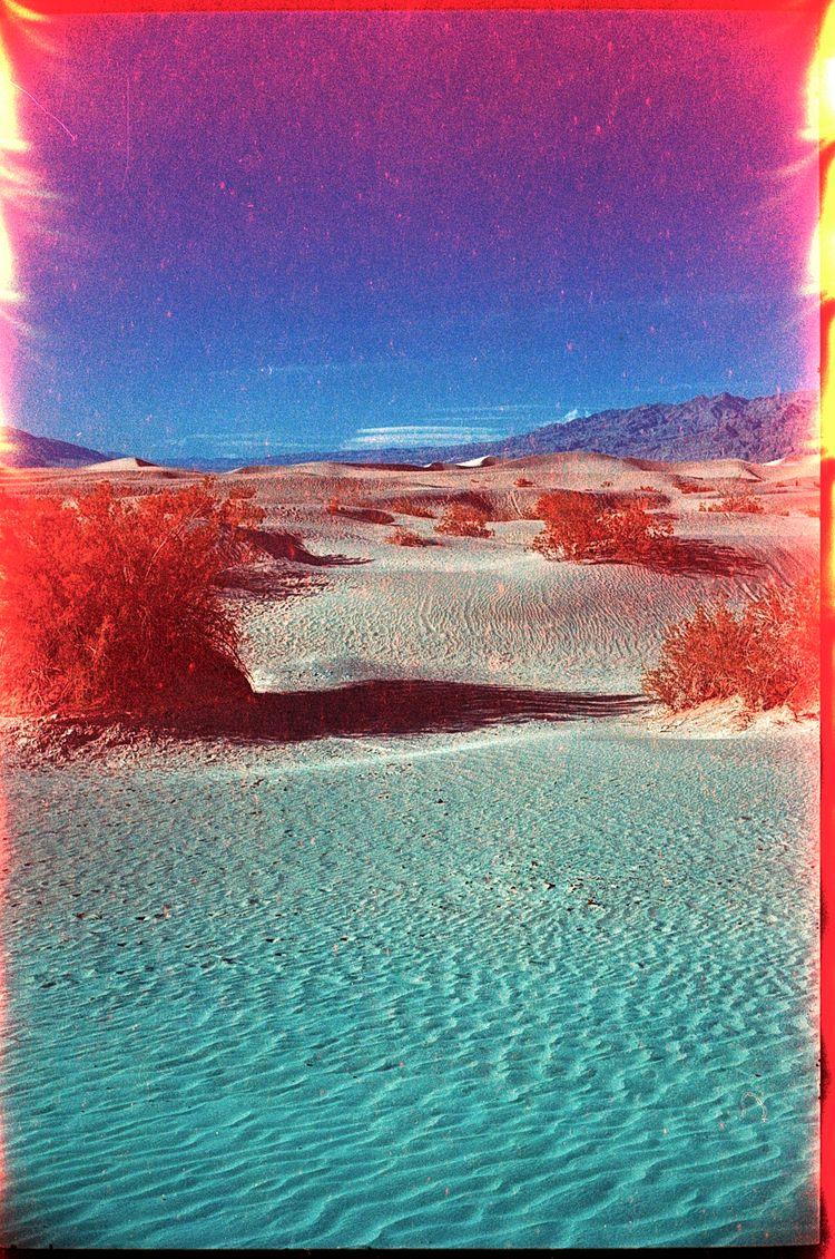 Death Valley + light leak Svema - the69thdimension | ello