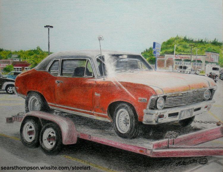 art, drawing, realism, classic - n_e_thompson | ello