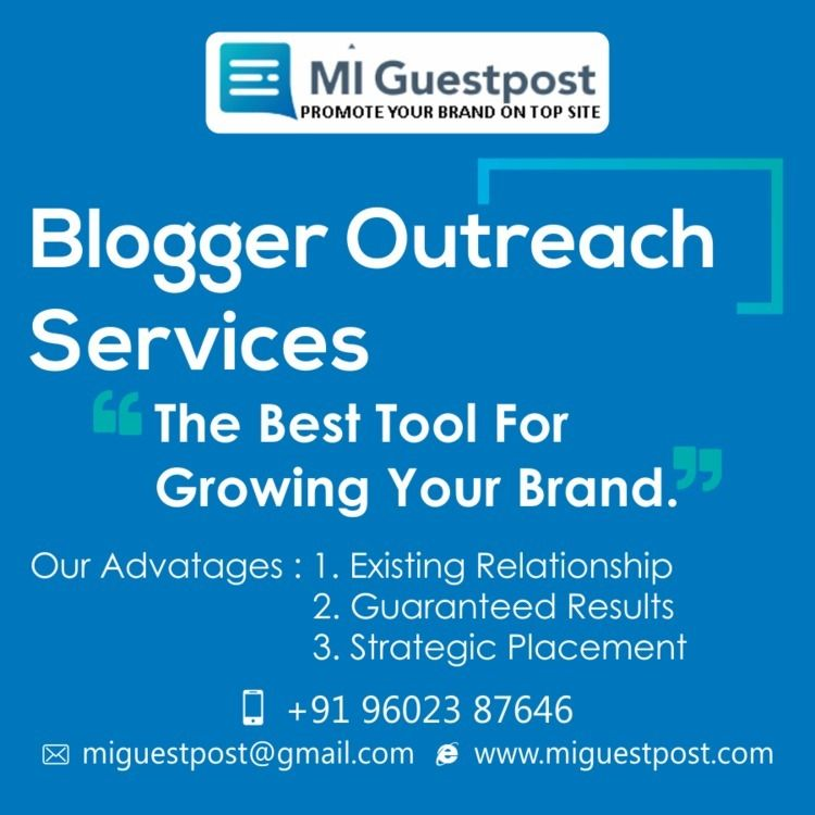 Blogger Outreach Guest Post Age - miguestpost | ello