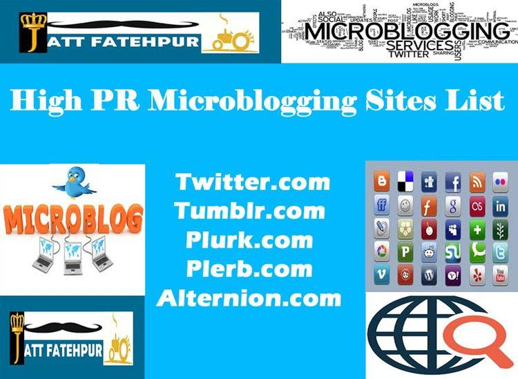 Microblogging? Microblogging fo - jattfatehpur | ello