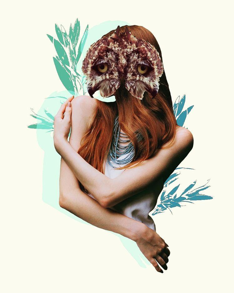 digitalmanipulation, artworks - coralbelcollage | ello