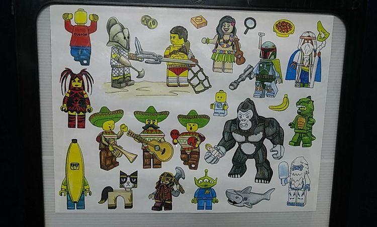 secret love Lego, Minifigures p - yankeedoodlezart | ello