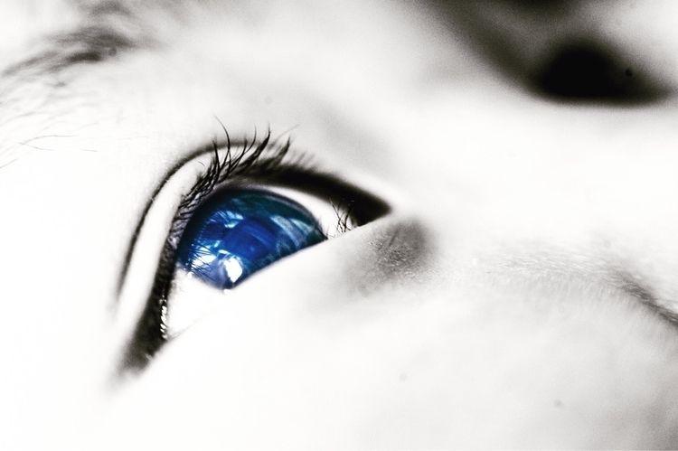 Eye - bnw, bw, blackandwhite, portrait - 410 | ello