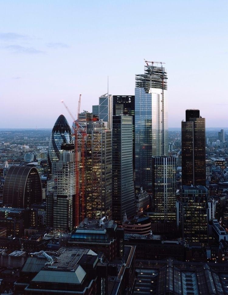 Views Broadgate Tower, shot 5x4 - domreess | ello