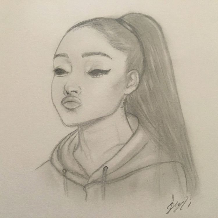 Ariana Grande drawing - drawingwithstrawberry | ello