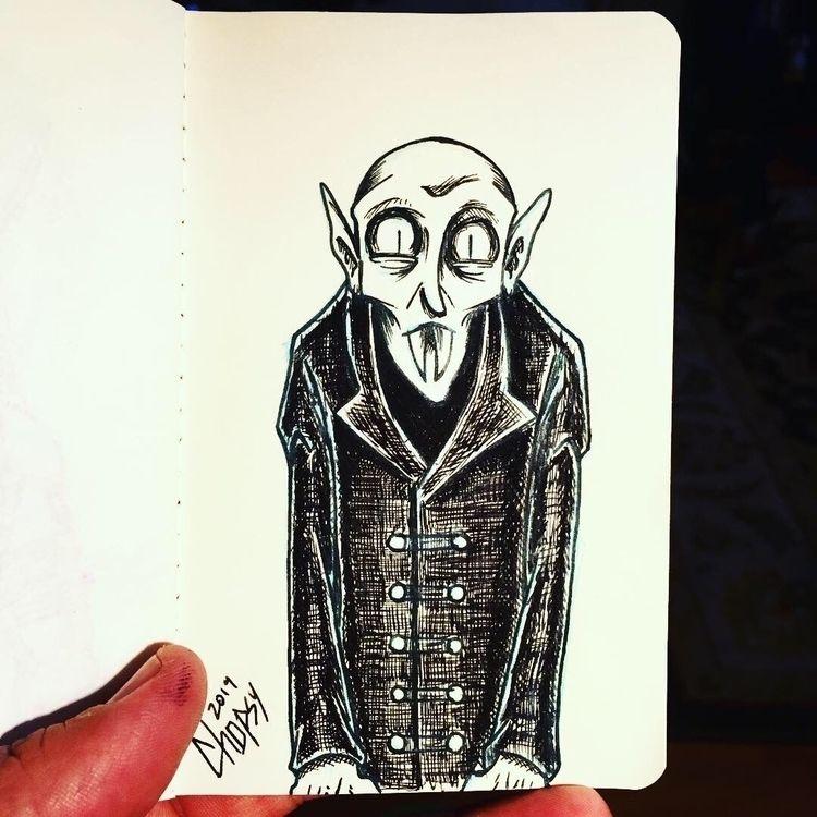 Nosferatu! fountain pens Workin - chopsy   ello