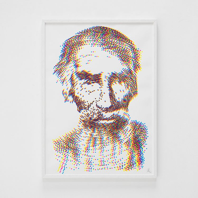 ''Comechingon' screenprint Hahn - peim | ello