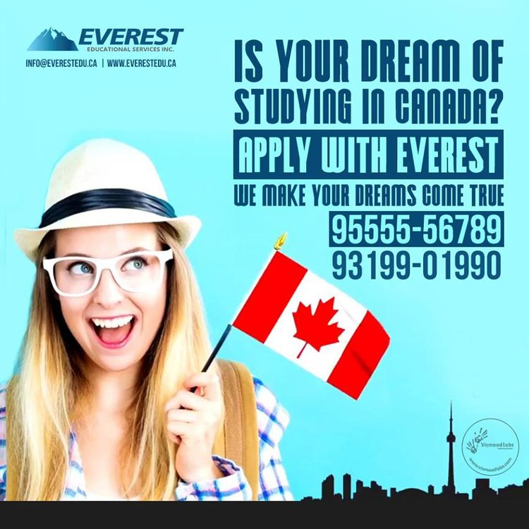 Dream Dtudying Canada? Everest  - everesteducational | ello