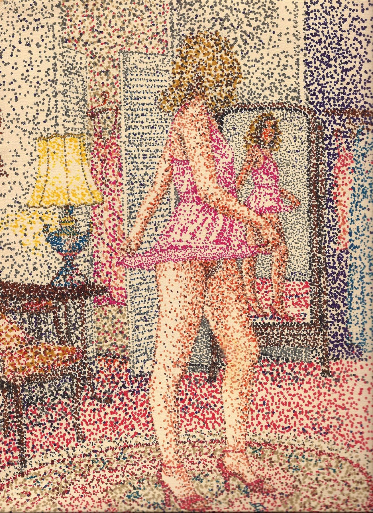 dressing room..pointillism sket - zygzwurx | ello