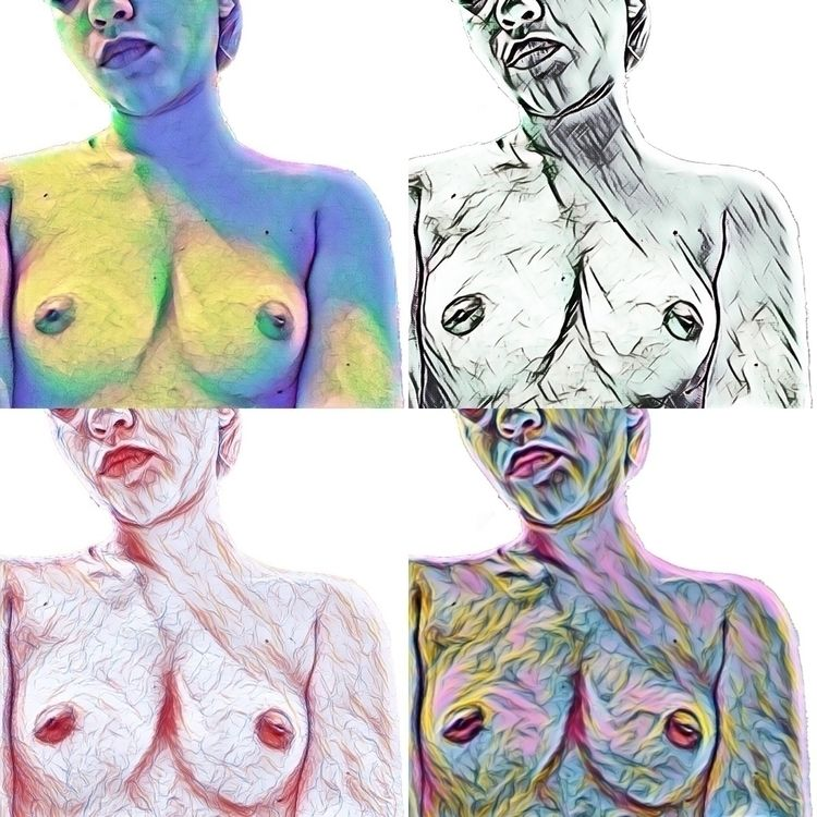 Friend art - nudeart, nipple, freethenipple - occhi-spalancati-chiusi | ello