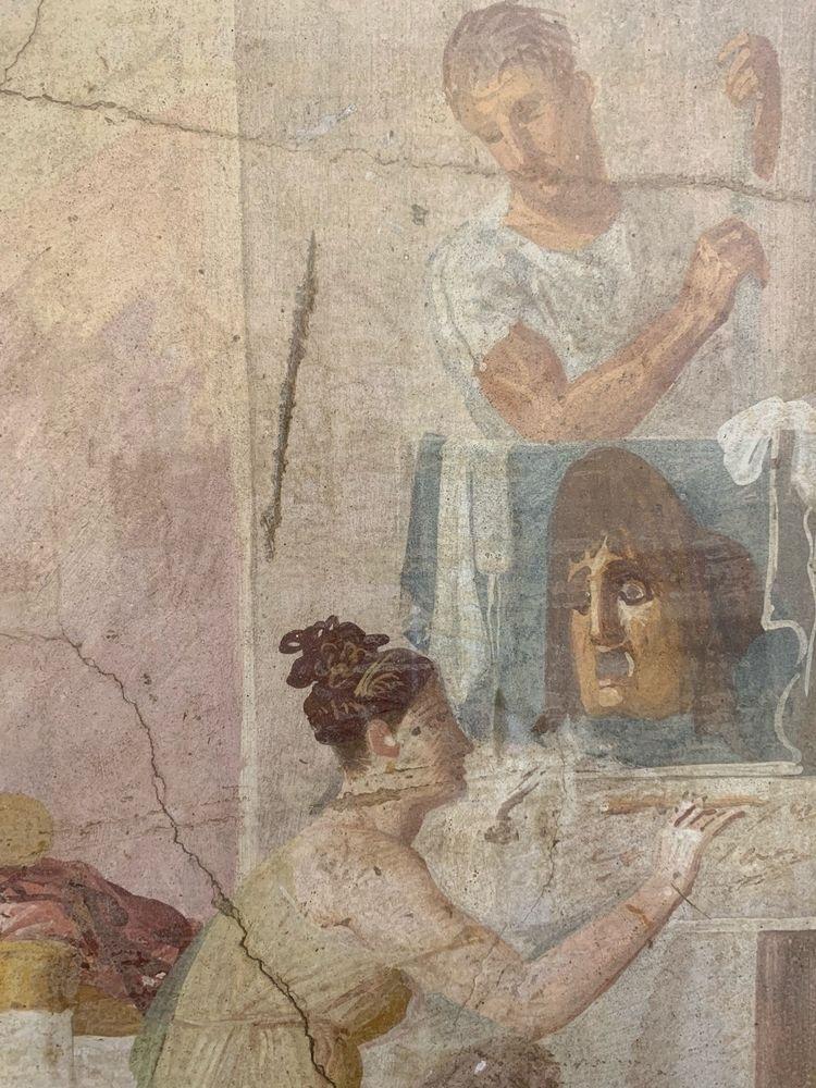 Masqué tragique; Naples, Musée  - asch-nl-amsterdam   ello
