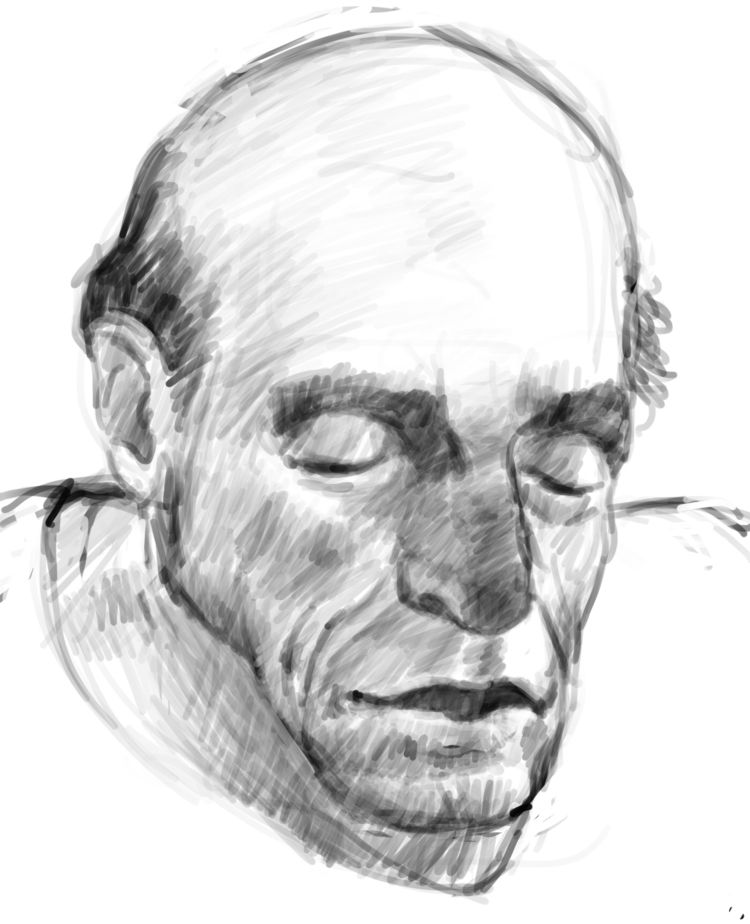 Man coffeeshop - linedrawing, lifedrawing - nevinberger | ello