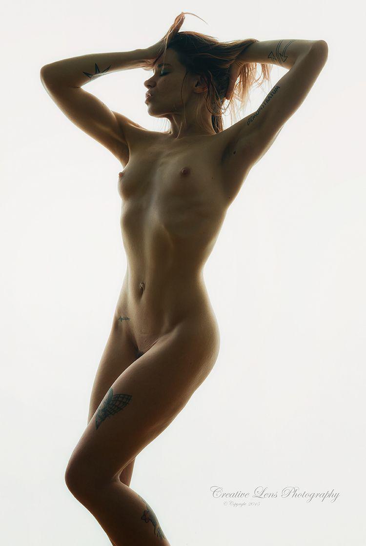 naked, nude, tattoos, redhair - creativelensphoto | ello