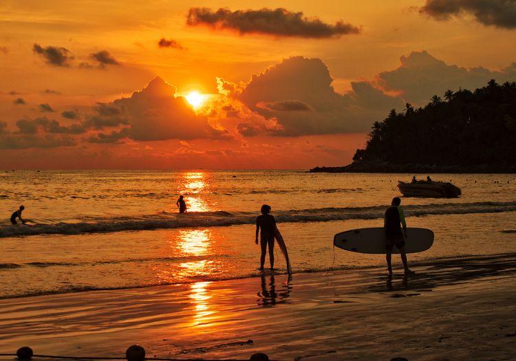 beautiful Sunset shot Kata Beac - neilhoward | ello