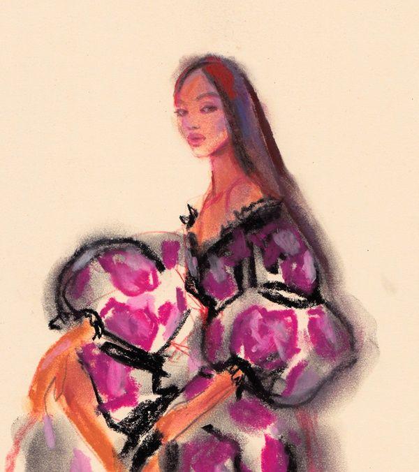 sketch romantic dresses *enjoyi - michellepam | ello