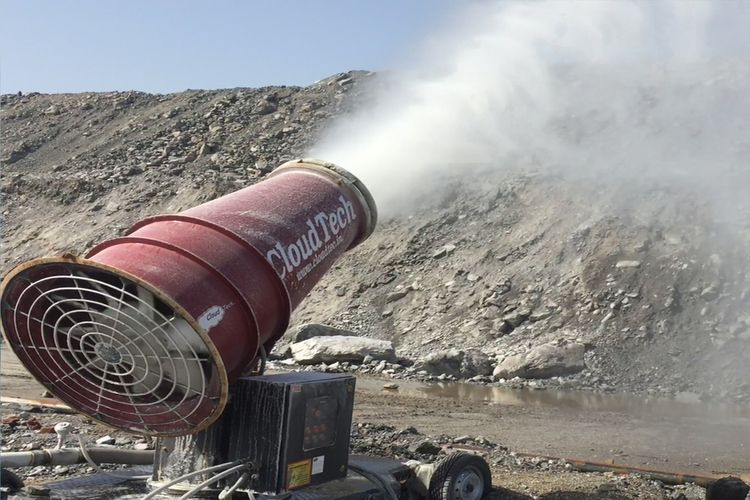 Dust Suppression System control - cloutechindia1 | ello