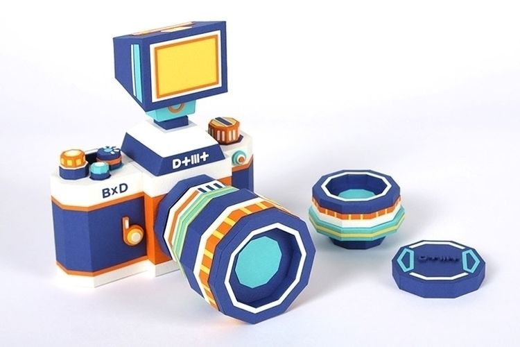 Paper Camera Kit Making Dotmot  - partfaliaz | ello