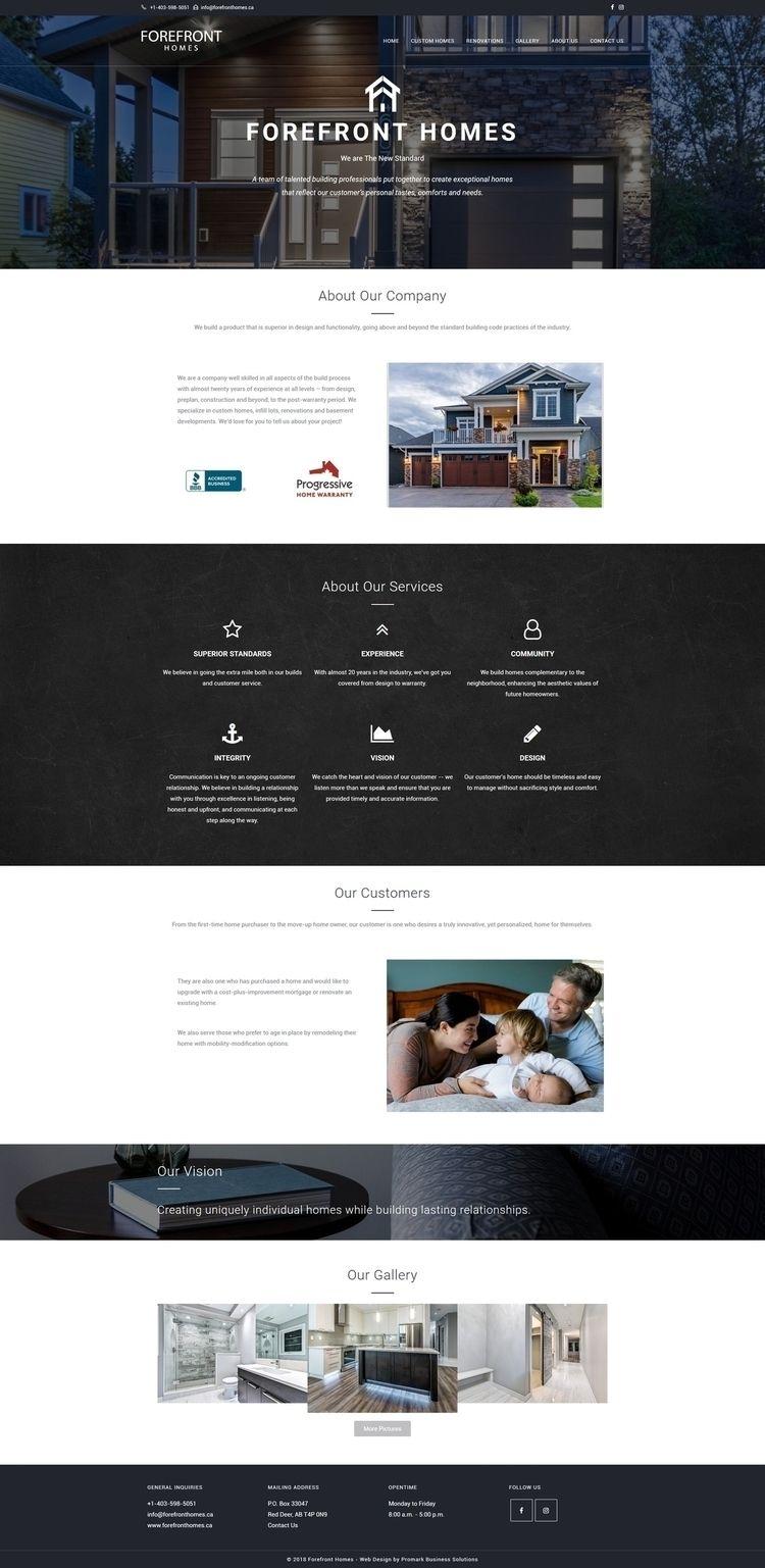 Forefront Homes Website Homes,  - promarkbusinesssolutions | ello