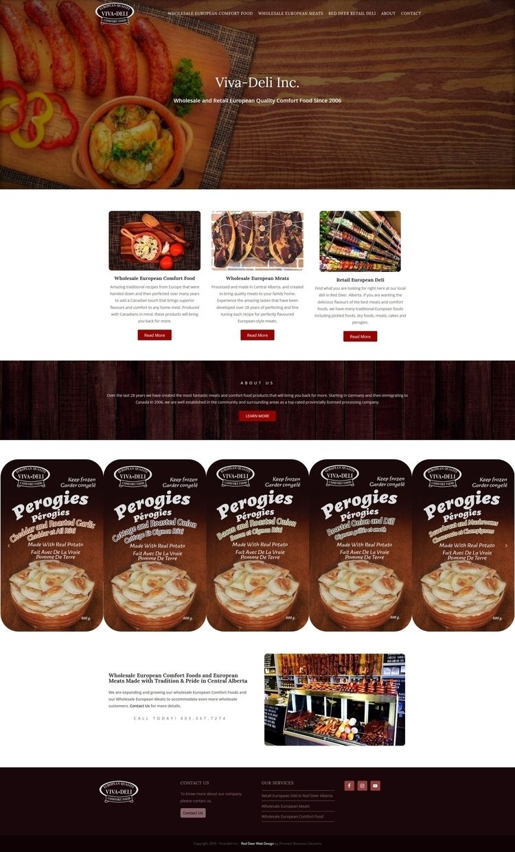 Viva-Deli Website Brand located - promarkbusinesssolutions | ello