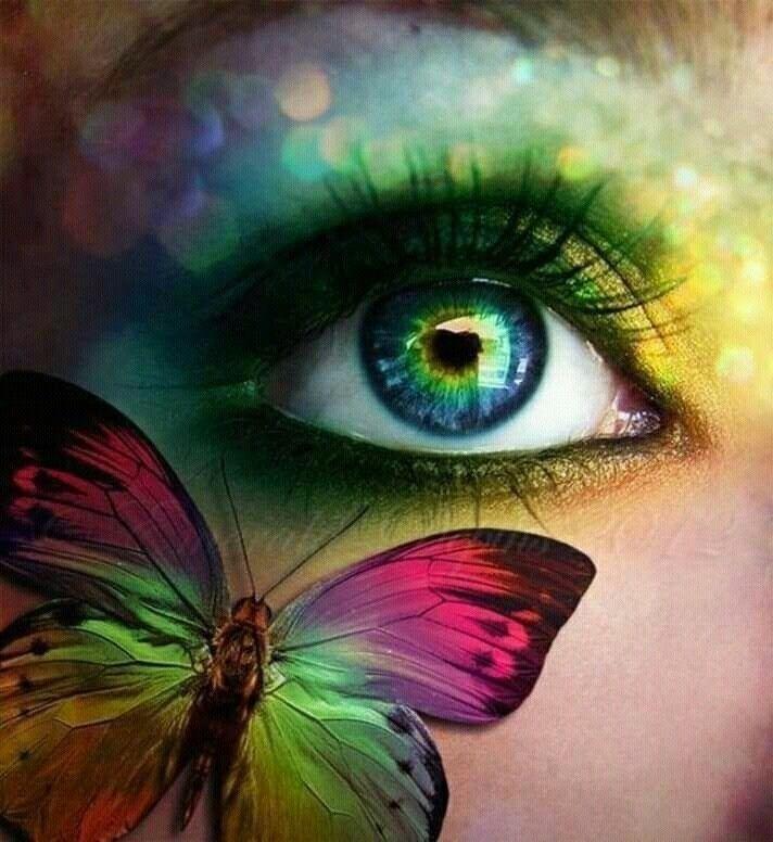 butterfly eyes - ellofantasyartandphotography | ello