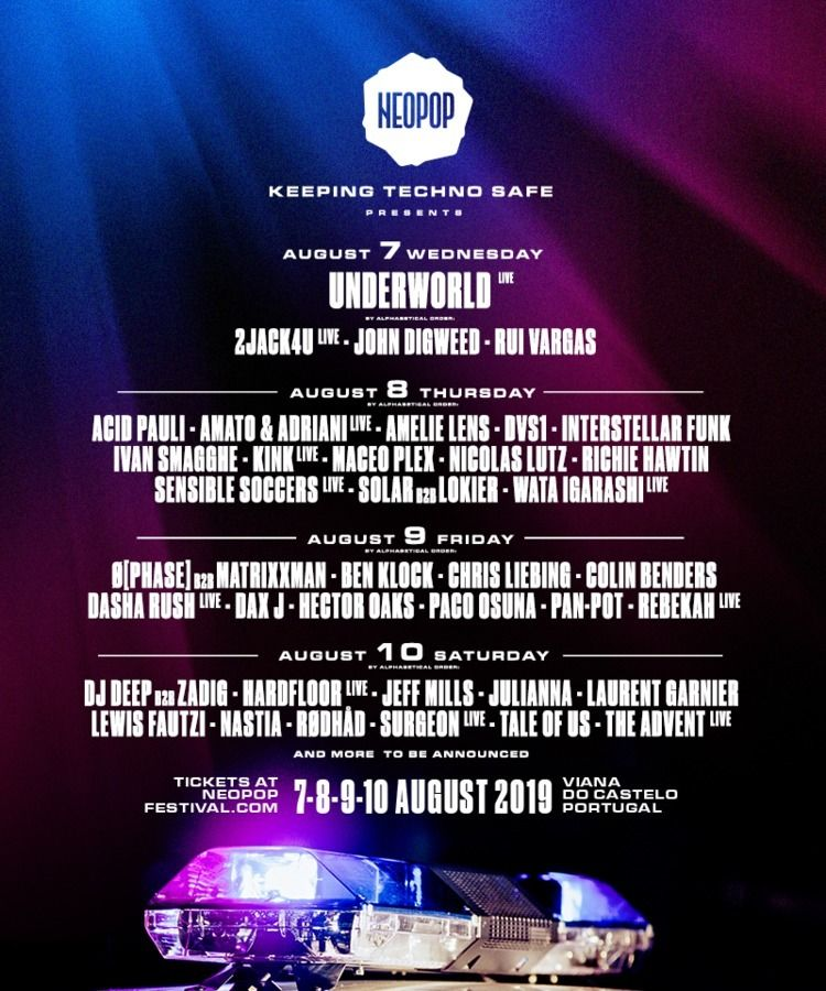 Hardfloor live Neopop Festival  - bondziolino | ello