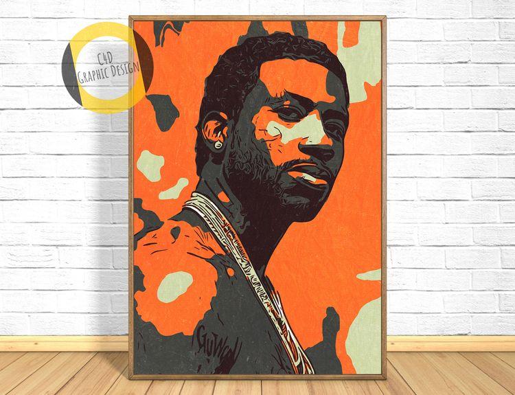 Gucci Mane Print,Gucci Maney Po - c4dgraphic | ello