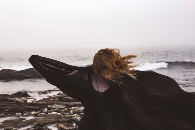 Swept  - newengland, ocean, dreary - hbarnetphoto | ello