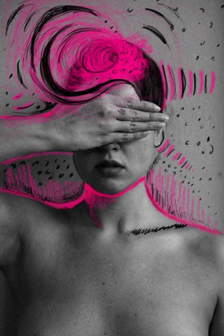 Quick doodle 041919 - mixedmedia - byoliviaoh | ello