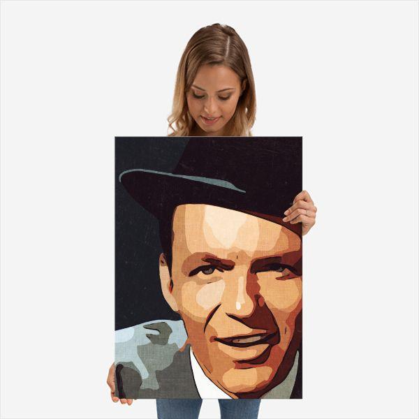 Frank Sinatra Print,Frank Poste - c4dgraphic   ello