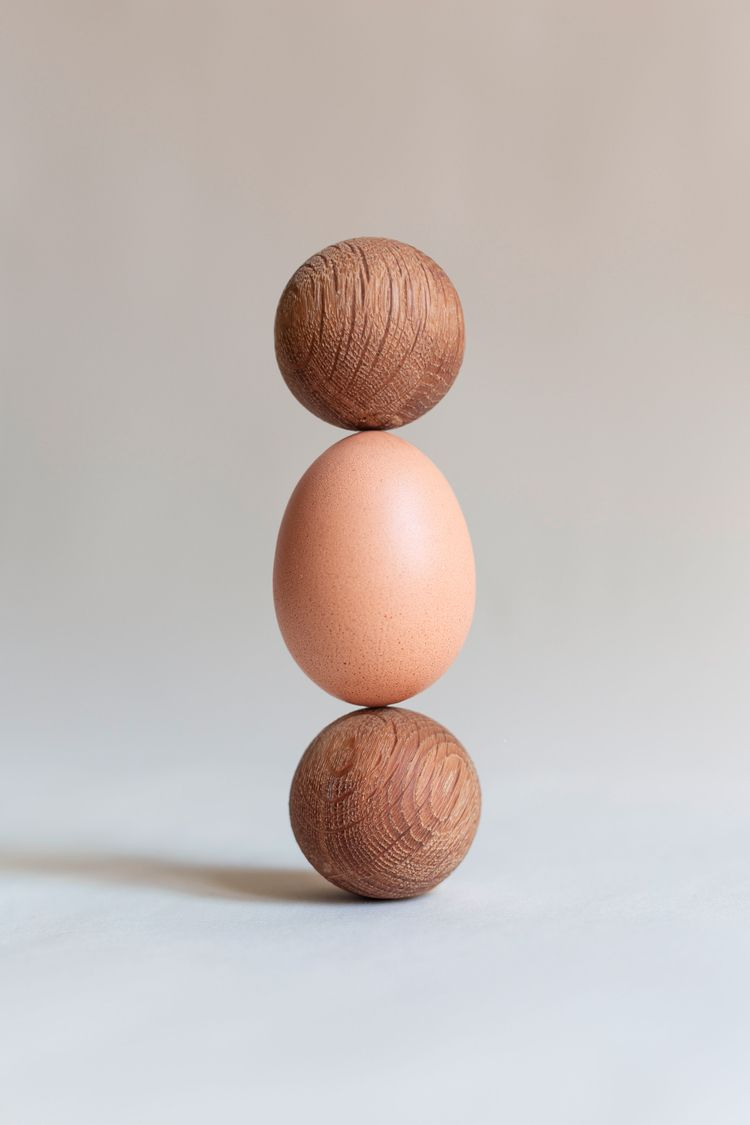 Happy Easter - egg, sphere, wood - jancarlbartels | ello