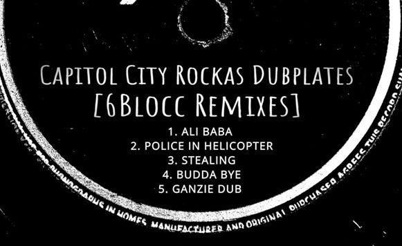 Capitol City Rockas - Dubplates - cassetteblog | ello