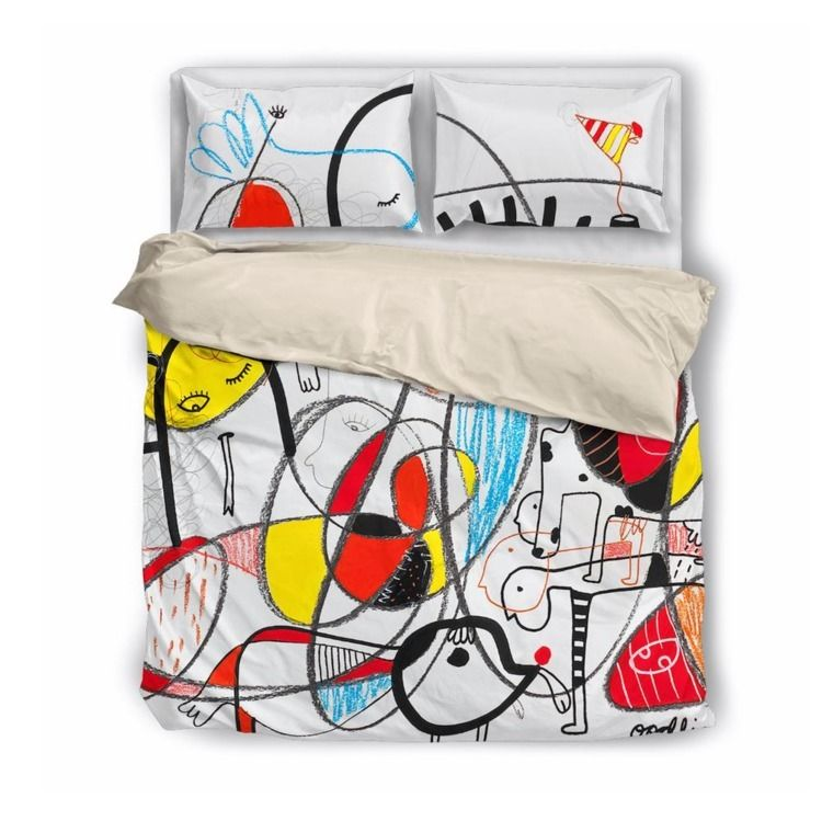feel sleeping art, Bedding set  - joimurugavell | ello