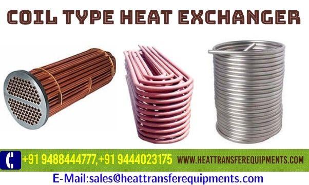 Coil Type Heat Exchanger Manufa - heattransfer | ello