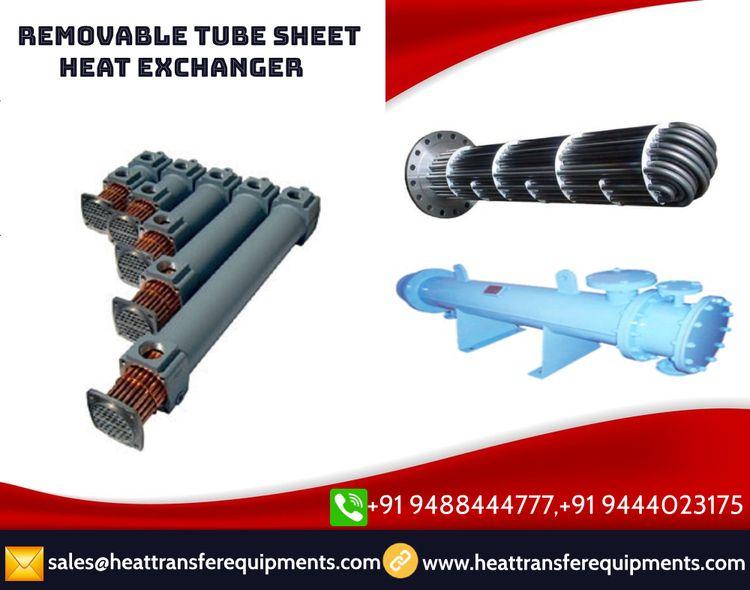Removable tube sheet heat excha - heattransfer | ello