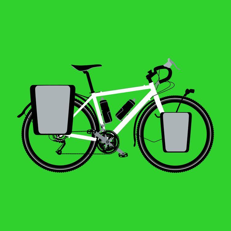 fuji touring bike - pigattodesign   ello