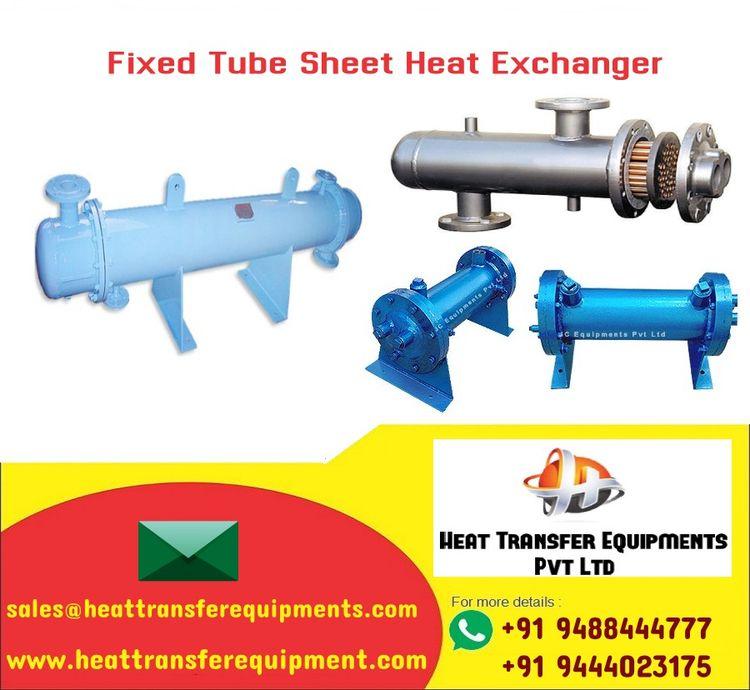 Fixed tube sheet heat exchanger - heattransfer | ello