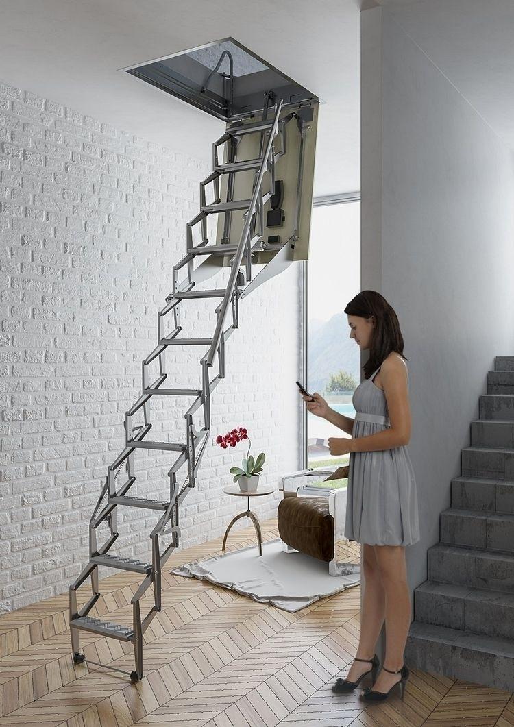 Elektrikli Çatı Merdiveni - fakroloftladder | ello