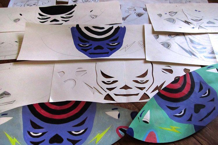 sketches Rave paintings  - patrou | ello