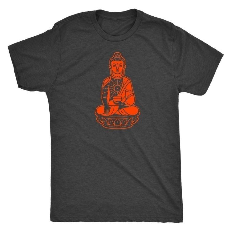 Shakyamuni Buddha, orange vinta - ellingson   ello