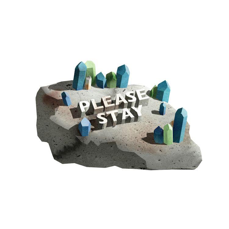 Stay Island...illustration. Wat - mineralannie | ello